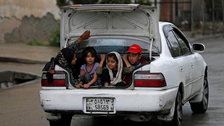 الشرطة الأفغانية تنقذ 6 أطفال من قبضة المهربين
