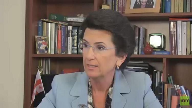 رئيسة برلمان جورجيا السابقة لـRT: طموح بلادي في أن تصبح حليفا قويا لواشنطن أكبر خطأ
