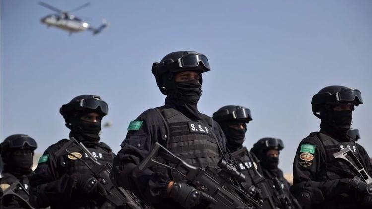 احتفالات الشرطة السعودية في العوامية