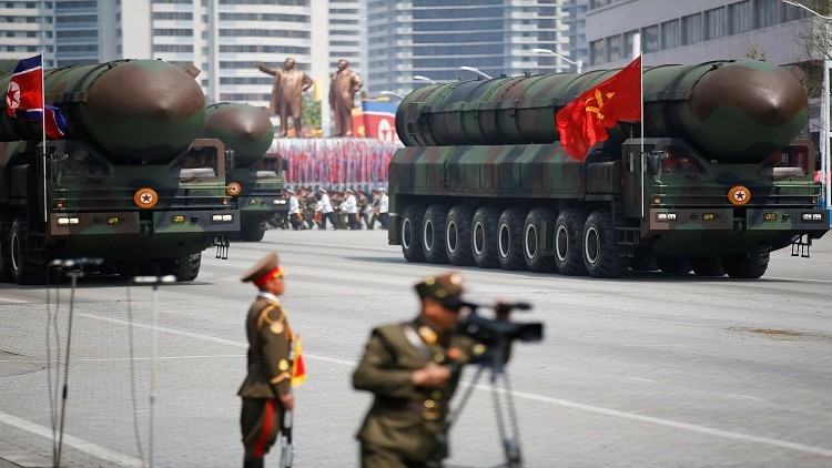 جنرال أمريكي : باستطاعة واشنطن بـ 15 دقيقة محو كوريا الشمالية عن وجه الأرض
