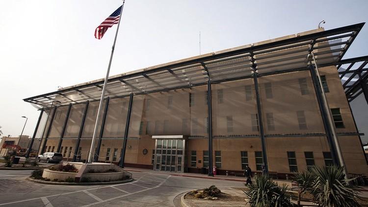 السفارة الأمريكية في بغداد تقيد حركة موظفيها