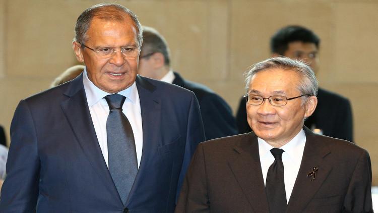 لافروف: تايلاند تساند التوجه الروسي في حل النزاعات الدولية