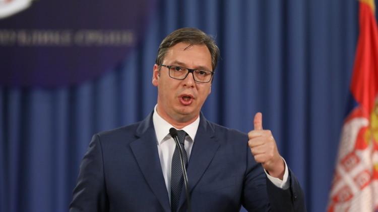 رئيس صربيا: نتعرض لضغوط دولية بسبب علاقتنا مع روسيا