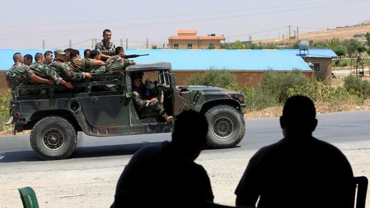 الجيش اللبناني يقصف مواقع لـ