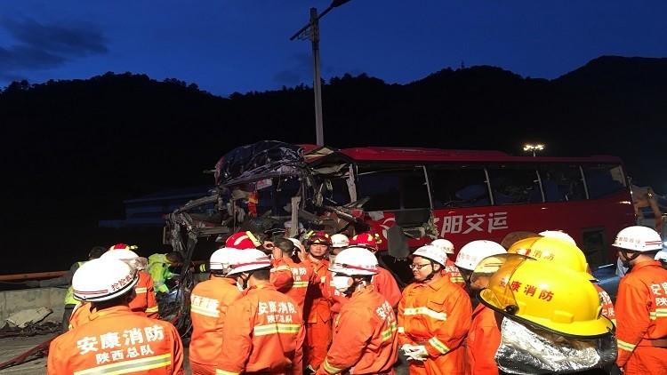 مصرع 36 شخصا بحادث سير في الصين