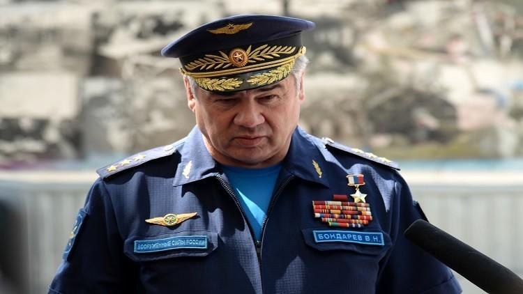 قائد سلاح الجو الروسي يعد بإعادة الاستقرار إلى سوريا