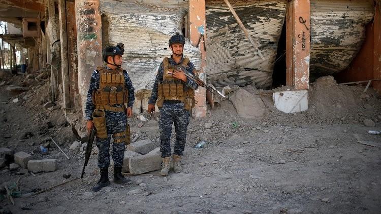 الداخلية العراقية تقتل انتحاريا يرتدي حزاما ناسفا في أيمن الموصل