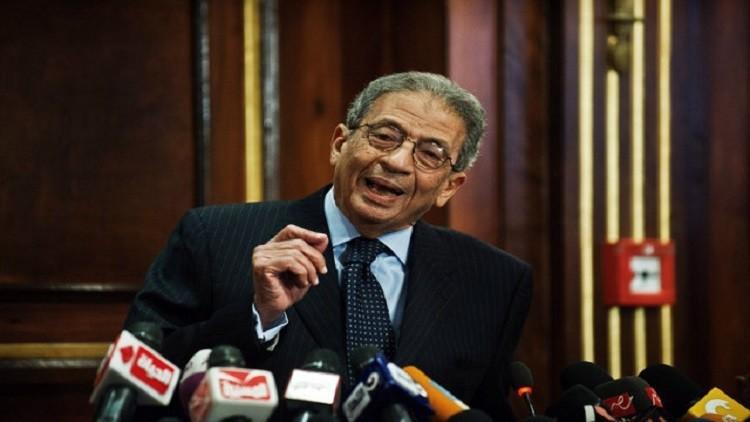 عمرو موسى يستنكر مقترحا بتمديد فترة الرئاسة إلى 6 سنوات