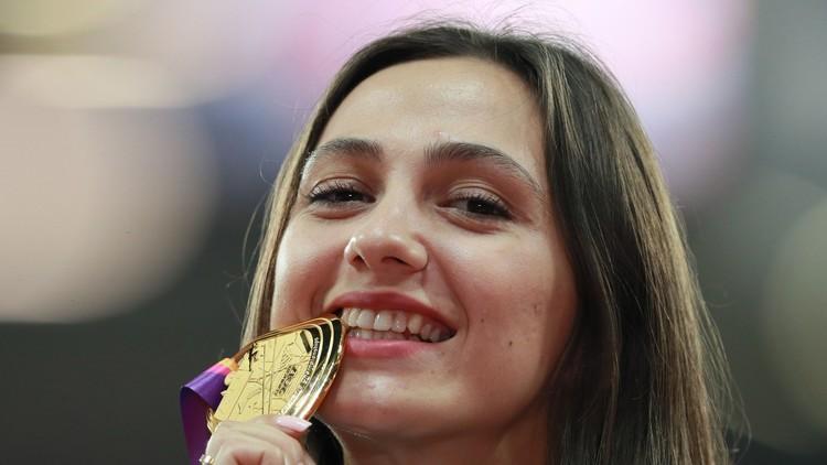 الفراشة لاسيتسكيني تهدي روسيا ميدالية ذهبية في مونديال القوى