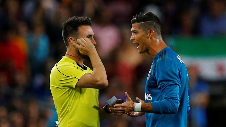 ريال مدريد يطعن على قرار طرد رونالدو !