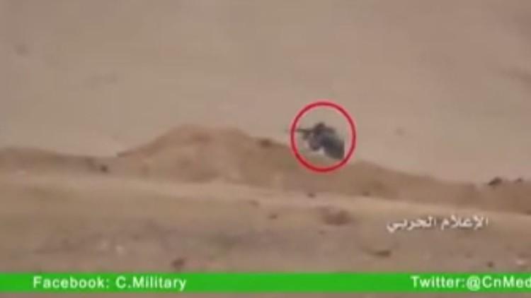 الجنود السوريون يقنصون