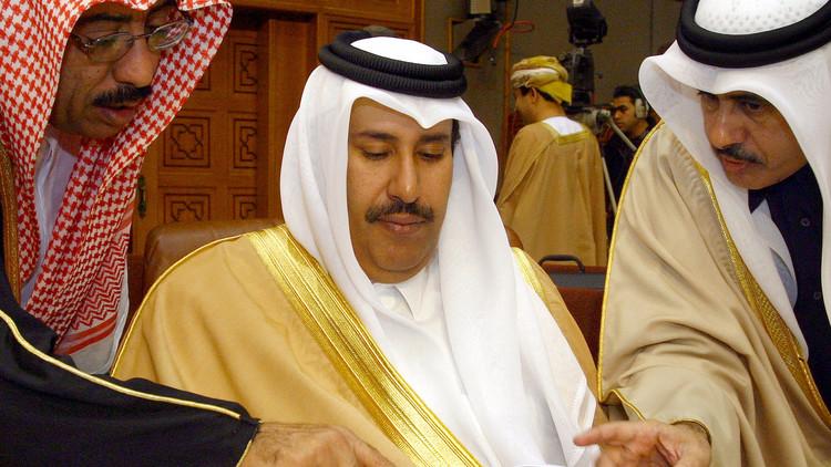 البحرين تبث مكالمة مسرّبة بين حمد بن جاسم وعلي سلمان