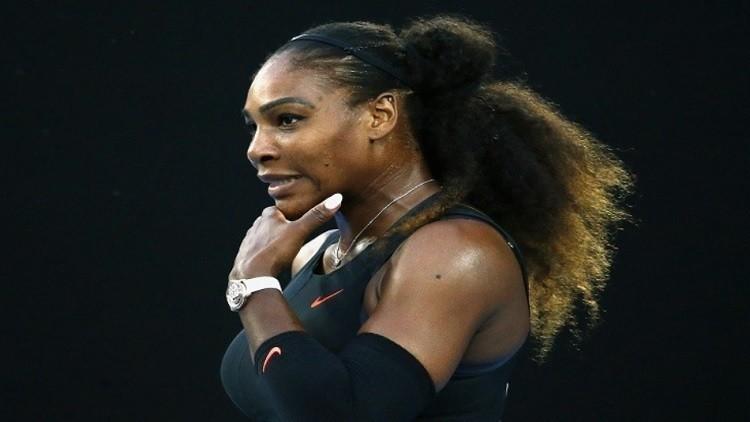 سيرينا تعلن موعد عودتها لملاعب التنس