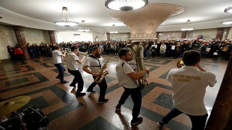 الموسيقى في مترو موسكو