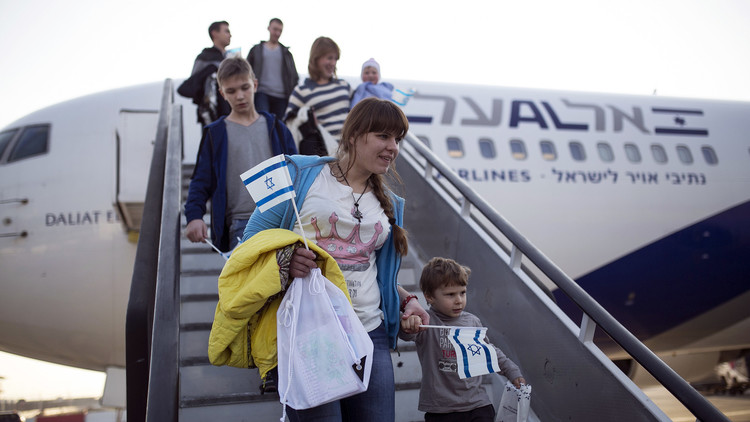اليهود يهجرون إسرائيل