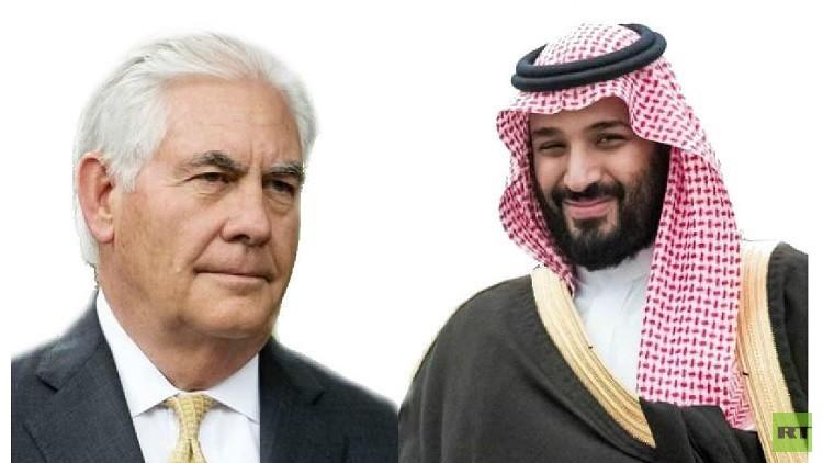 بعد انتقاده الحريات الدينية في المملكة.. تيلرسون يهاتف ولي العهد السعودي