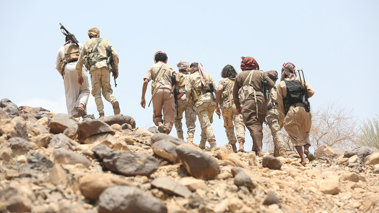 قوات النخبة اليمنية تبدأ عملياتها العسكرية في معقل الحوثيين