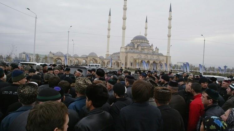قافلة الحجاج الشيشان تتوجه إلى الديار المقدسة