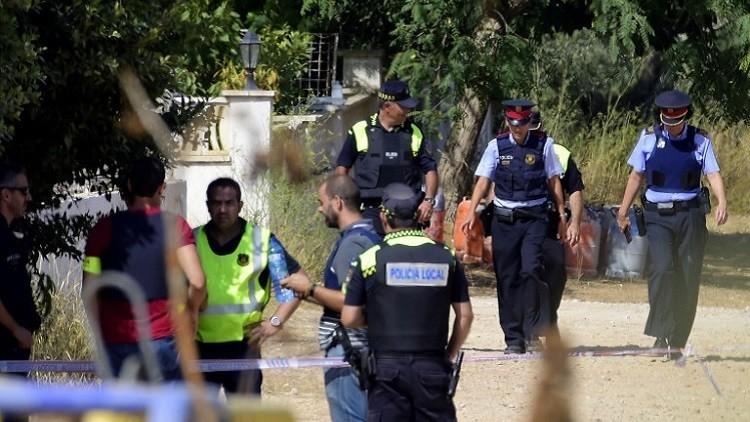 شرطة كاتالونيا تعثر على آثار