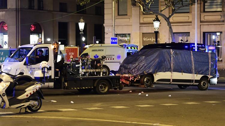 الشرطة الإسبانية تعثر على سيارة استخدمها منفذو هجوم كتالونيا