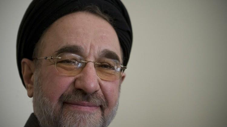 خاتمي يدعو لإنهاء الإقامة الجبرية على قادة المعارضة