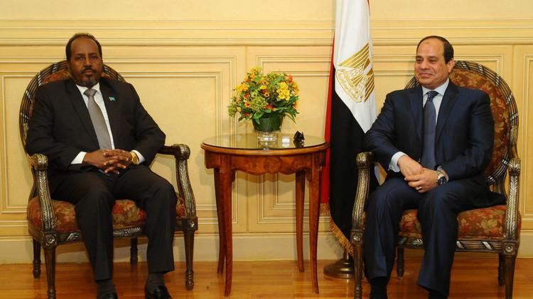 السيسي يستقبل الرئيس الصومالي في القاهرة