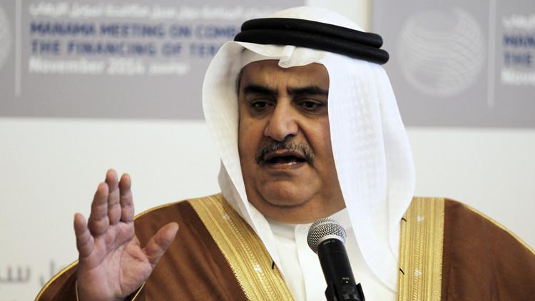 آل خليفة لظريف: أمن الدول يرسى من الداخل