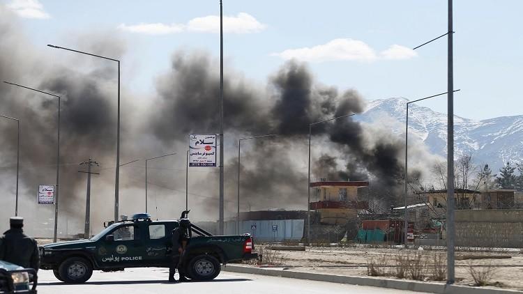 انفجار قرب السفارة الأمريكية في كابل قبيل خطاب ترامب بشأن استراتجيته في أفغانستان