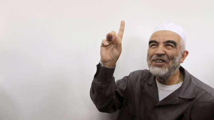 تمديد اعتقال الشيخ رائد صلاح حتى الخميس