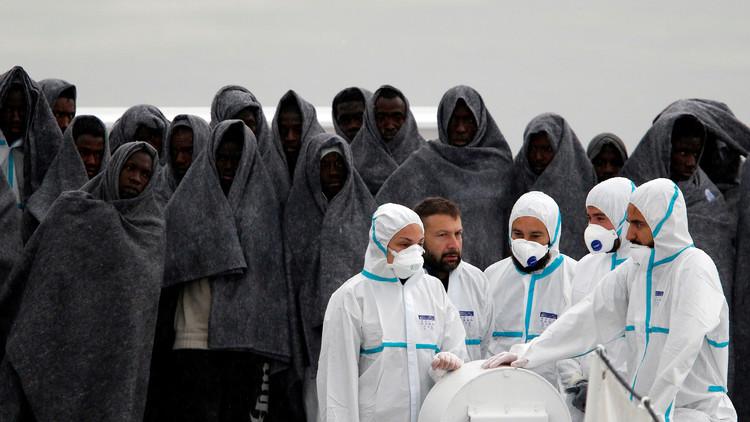مجموعة ليبية مسلحة تمنع قوارب المهاجرين من الإبحار إلى أوروبا