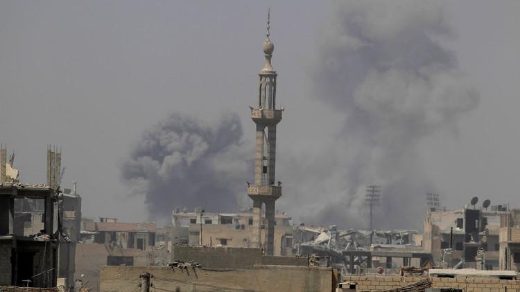 الأمم المتحدة تدعو لهدنة إنسانية في الرقة لإخراج المدنيين