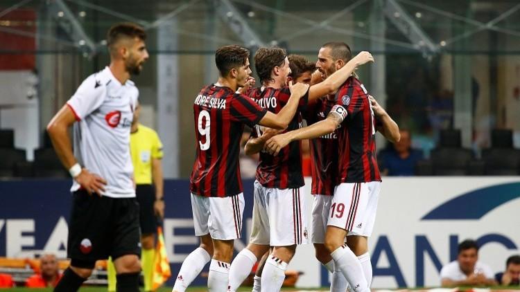 ميلان إلى مرحلة المجموعات من الدوري الأوروبي