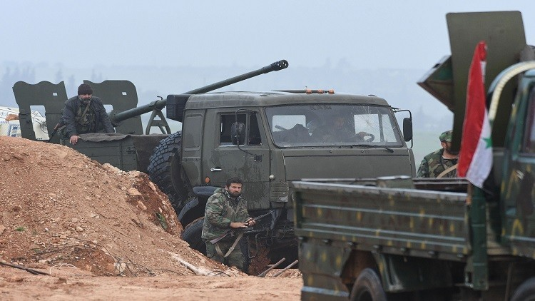 بالفيديو.. الجيش السوري وحلفاؤه يصدون هجوما لـ