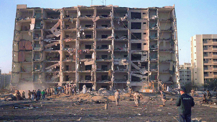 تفجير استهدف برج الخبر في السعودية عام 1996