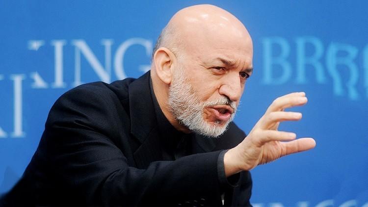 حامد كرزاي: استراتيجية واشنطن تتعارض مع مصالح أفغانستان