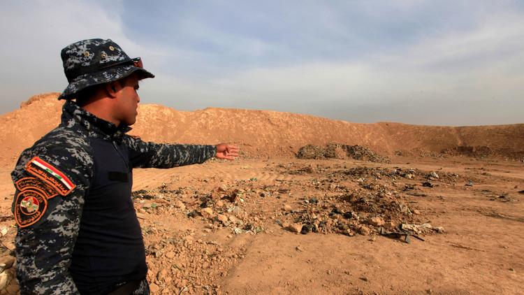 العثور على رفات 500 ضحية لمجزرة سجن بادوش غرب الموصل