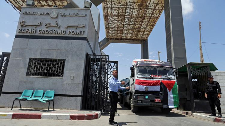 هيئة فلسطينية: مصر تمنع دخول مساعدات جزائرية إلى غزة