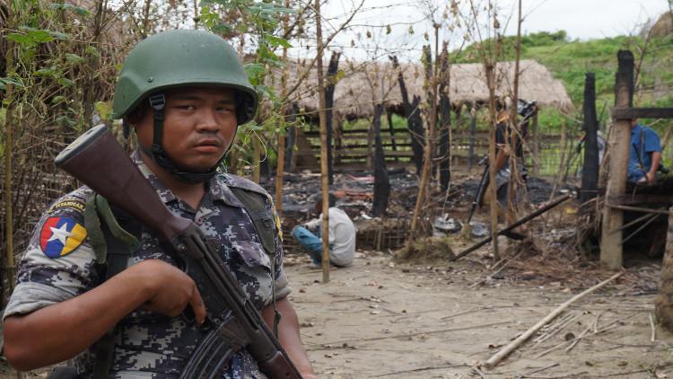 مقتل 400 شخص في حملة ضد الروهينغا بميانمار