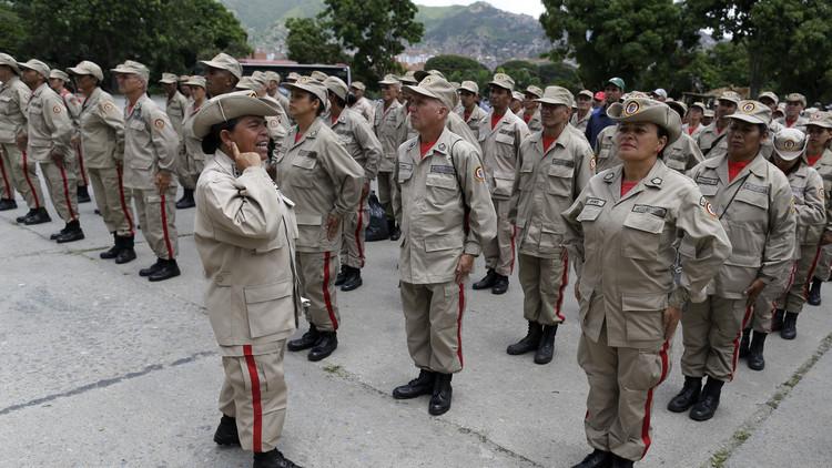 فنزويلا تستنفر مواطنيها للمشاركة في مناورات متكاملة ردا على تهديدات الولايات المتحدة