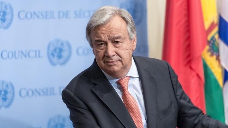 غوتيريش: لن يؤثر أحد على قراري بشأن التحالف العربي
