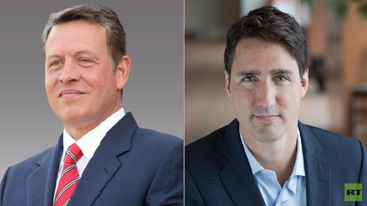 ملك الأردن يزور كندا الاثنين للقاء ترودو