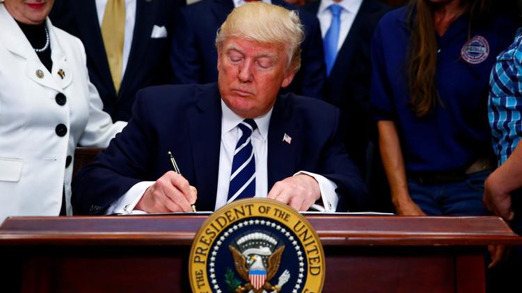 ترامب يلغي أمرا تنفيذيا سابقا لأوباما