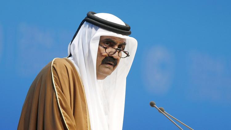 أمير قطر السابق حمد بن خليفة آل ثاني