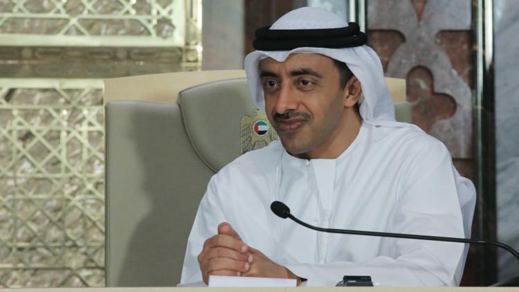 الإمارات تدعو إلى خروج القوات الإيرانية والتركية من سوريا