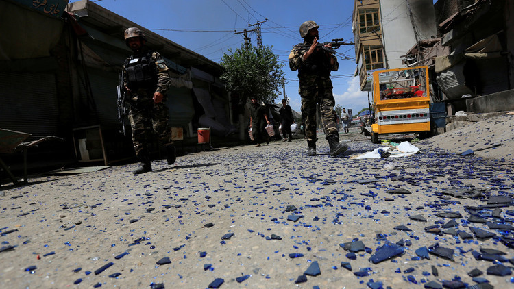مقتل شخصين في هجوم انتحاري استهدف مقرا لنائب أفغاني