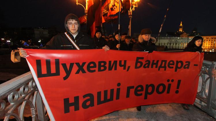النواب الأوروبيون سيتولون مشكلة الفاشية الجديدة في أوكرانيا