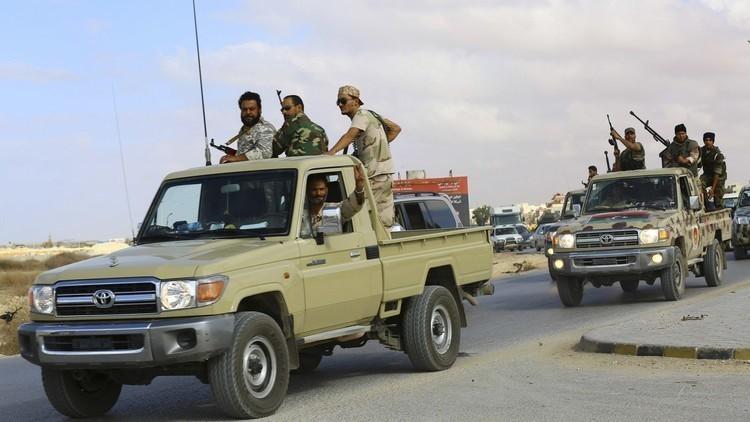 قتيلان من قوات حفتر بتفجير شرق سرت
