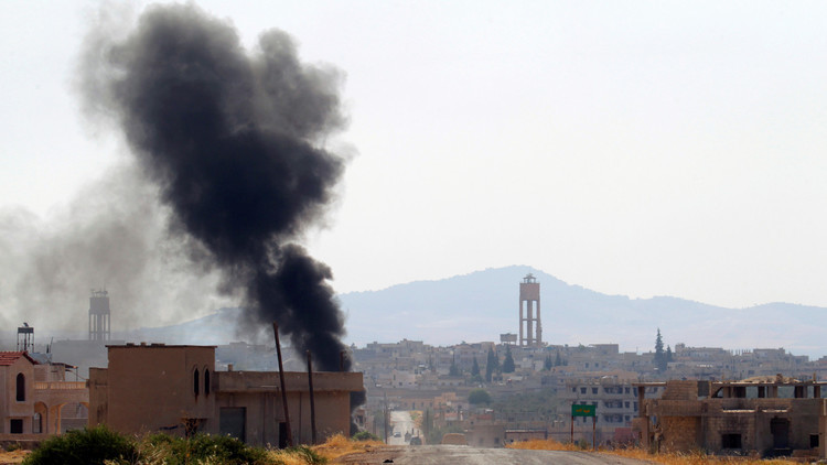 إصابات بين المدنيين بقذائف أطلقها