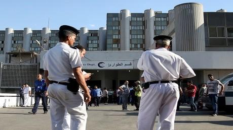 أرشيف - أفراد من الشرطة المصرية