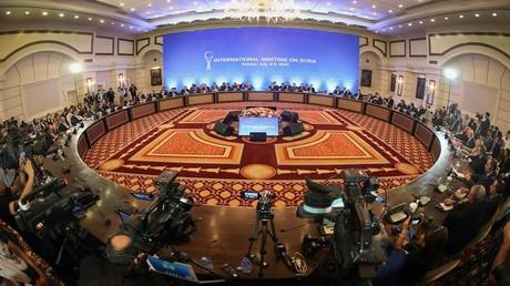 أرشيف - جولة خامسة من مفاوضات أستانا بشأن سوريا، 4-5 يوليو/تموز 2017